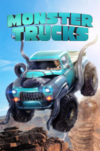 Monster Trucks - Vudu HD (Digital Code)