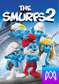 The Smurfs 2 - Vudu SD or iTunes SD via MA (Digital Code)