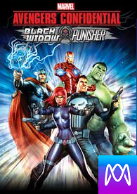 Avengers Confidential: Black Widow and Punisher - Vudu HD or iTunes HD via MA (Digital Code)