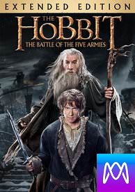 The Hobbit - The Battle of the Five Armies: Extended Edition - Vudu HD or iTunes HD via MA (Digital Code)