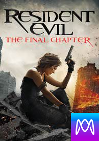 Resident Evil: The Final Chapter - Vudu SD or iTunes SD via MA (Digital Code)