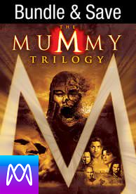 Mummy: Trilogy - Vudu HD or iTunes HD via MA - (Digital Code)