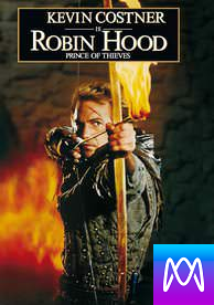 Robin Hood: Prince of Thieves: Extended Cut - Vudu HD or iTunes HD via MA - (Digital Code)