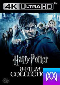Harry Potter 8 Film Collection - HD4K/UHD (Digital Code)