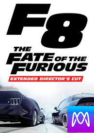 Fate of the Furious: Extended Director's Cut - Vudu HD or iTunes HD via MA (Digital Code)
