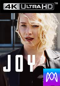 Joy - Vudu HD or iTunes HD via MA (Digital Code)