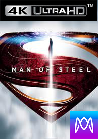 Man of Steel -  Vudu 4K or iTunes 4K via MA (Digital Code)