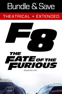 The Fate of the Furious: Bundle - Vudu HD and iTunes (Digital Code)