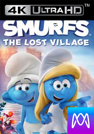 The Smurfs: Lost Village - Vudu HD or iTunes 4K via MA (Digital Code) - Please Read Description