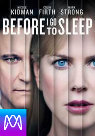 Before I Go To Sleep - Vudu HD or iTunes HD via MA (Digital Code)