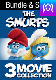 Smurfs Trilogy - Vudu HD or iTunes HD via MA - (Digital Code)