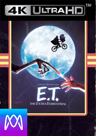 E.T. -  Vudu 4K UHD (Digital Code) - Please Read Description