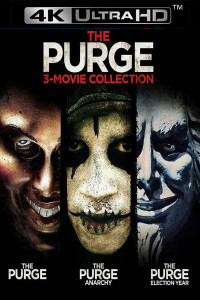 The Purge: Trilogy - 4K UHD (Digital Code) - Please Read Description