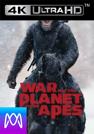 War For the Planet of the Apes - Vudu 4K via iTunes 4K at FoxRedeem (Digital Code) - Please Read Instructions Below