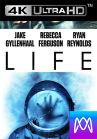 Life - Vudu 4K or iTunes 4K via MA - (Digital Code)