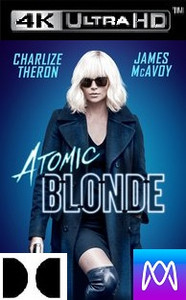 Atomic Blonde - Vudu 4K - (Digital Code)