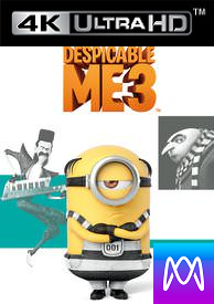 Despicable Me 3 - iTunes 4K (Digital Code)