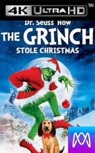Dr. Seuss' How The Grinch Stole Christmas - iTunes 4K (Digital Code)
