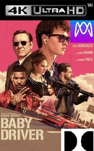Baby Driver - 4K UHD or iTunes 4K via MA (Digital Code) - Please Read Description