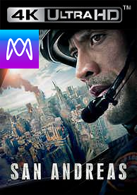 San Andreas - 4K UHD or iTunes 4K via MA (Digital Code) - Please Read Description