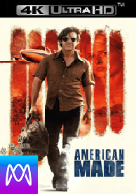 American Made - Vudu 4K or iTunes 4K via MA (Digital Code)