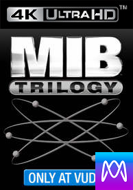 Men in Black Trilogy - Vudu HD or iTunes 4K via MA (Digital Code) - Please Read Description