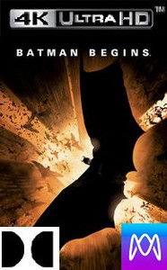 Batman Begins - Vudu 4K or iTunes 4K via MA - (Digital Code)