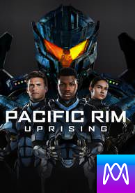 Pacific Rim: Uprising - Vudu HD or iTunes HD via MA (Digital Code)