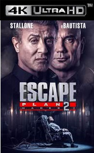 Escape Plan 2: Hades - Vudu HD or iTunes 4K - (Digital Code)