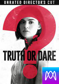 Truth Or Dare: Unrated Director's Cut - Vudu HD or iTunes HD via MA (Digital Code)