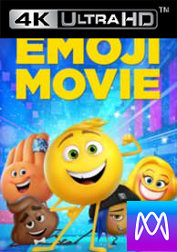 Emoji Movie - HD4K UHD or iTunes 4K via MA (Digital Code) - Please Read Description