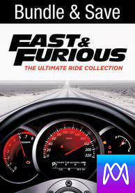 Fast and Furious: 8 Movie Collection - iTunes HD (Digital Code)