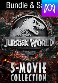 Jurassic World 5-Movie Collection - Vudu HD or iTunes HD via MA (Digital Code)