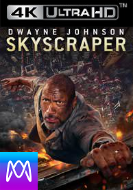 Skyscraper Vudu 4K or iTunes 4K via MA (Digital Code)