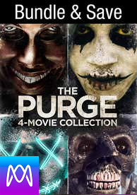 Purge: 4-Movie Collection - Vudu HD or iTunes HD via MA (Digital Code)
