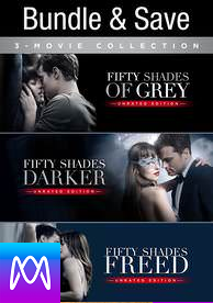 Fifty Shades Trilogy (Theatrical and Unrated) - Vudu HD or iTunes HD via MA - (Digital Code)