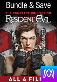 Resident Evil: The Complete Collection - Vudu HD or iTunes HD via MA (Digital Code)