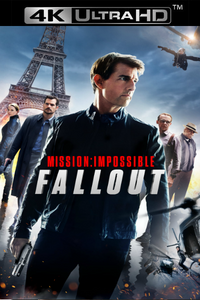 Mission Impossible: Fallout - Vudu 4K UHD (Digital Code)
