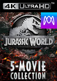 Jurassic World 5-Movie Collection - 4K UHD Vudu (Digital Code)