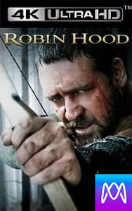 Robin Hood 2010 - Vudu HD4K or iTunes 4K (Digital Code)