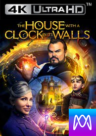 The House With a Clock In It's Wall - Vudu 4K or iTunes 4K via MA (Digital Code)