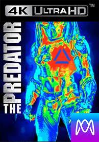 The Predator - Vudu 4K or iTunes 4K via MA (Digital Code)