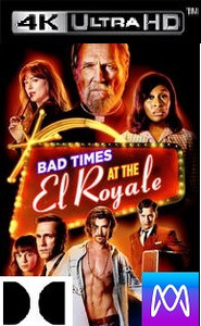 Bad Times at the El Royale - Vudu 4K or iTunes 4K via MA (Digital Code)