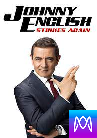 Johnny English Strikes Again - Vudu HD or iTunes HD via MA (Digital Code)