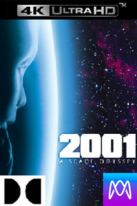 2001: A Space Odyssey - Vudu 4K or iTunes 4K via MA (Digital Code)