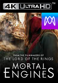 Mortal Engines - Vudu 4K or iTunes 4K via MA (Digital Code)