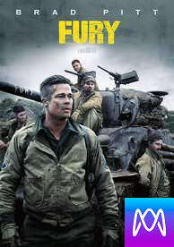 Fury - Vudu SD or iTunes SD via MA (Digital Code)