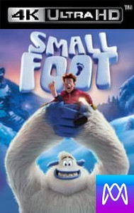 Smallfoot - Vudu 4K or iTunes 4K via MA (Digital Code)