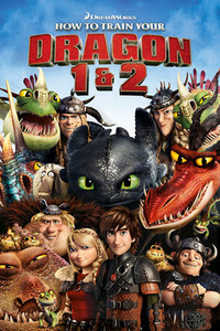 How to Train Your Dragon 1 and 2 - Vudu HD (Digital Code)