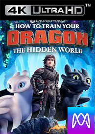 How to Train Your Dragon: The Hidden World - Vudu 4K UHD (Digital Code)
